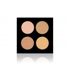 Backstage Cream Concealer Palette / Korrekor Paletta - Light, 2301-L
