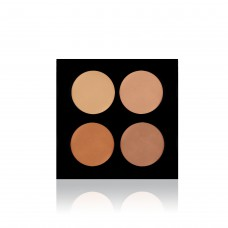 Backstage Cream Concealer Palette / Korrekor Paletta - Medium, 2301-M
