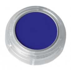 Grimas Water Make-up Fluorescent UV Pure face- and bodypaint / UV Arc- és testfesték, 2,5 ml Blue – Kék 330, GWATER-330-F3