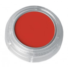 Grimas Water Make-up Fluorescent UV Pure face- and bodypaint / UV Arc- és testfesték, 2,5 ml Orange-red – Narancssárga-piros 530, GWATER-530-F3