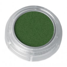 Grimas Water Make-up Metallic Pure face- and bodypaint / Metál Arc- és testfesték, 2,5 ml Green – Zöld 704, GWATER-704-I3