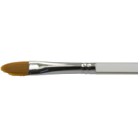Diamond FX Ovális/macskanyelv arc- és testfestő ecset – Oval face- and body painting brush BUDGET DFX-8118 no: 2