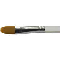 Diamond FX Ovális/macskanyelv arc- és testfestő ecset – Oval face- and body painting brush BUDGET DFX-8118 no: 6