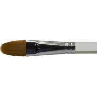 Diamond FX Ovális/macskanyelv arc- és testfestő ecset – Oval face- and body painting brush BUDGET DFX-8118 no: 8