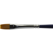 Diamond FX Lapos arc- és testfestő ecset - Flat face- and body painting brush BUDGET DFX-901 no: 3